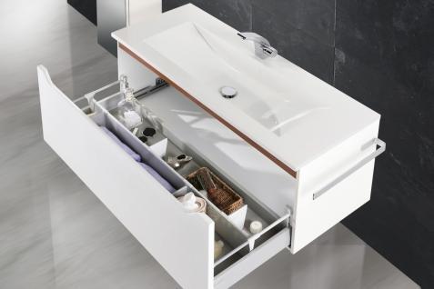BadmÖbel Set Monza BadezimmermÖbel Design Badset Mit 120 Cm Waschtisch - Vorschau 5