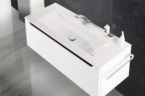BadmÖbel Set Monza BadezimmermÖbel Design Badset Inkl. 120 Waschtisch - Vorschau 3