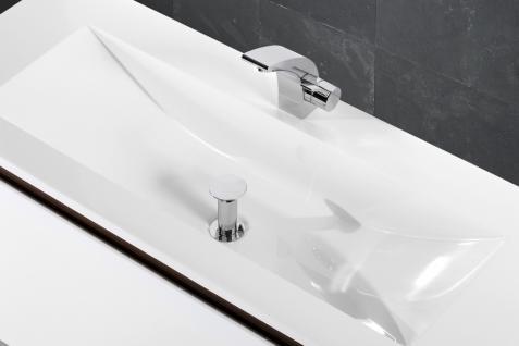 BadmÖbel Set Monza BadezimmermÖbel Ebenholz Design Badset Inkl. 120 Waschtisch - Vorschau 5
