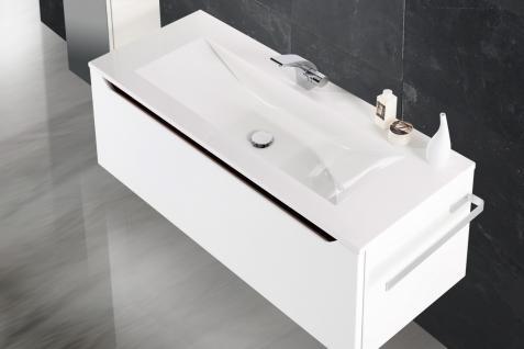 BadmÖbel Set Monza BadezimmermÖbel Ebenholz Design Badset Inkl. 120 Waschtisch - Vorschau 3