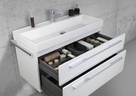 Badmöbel 100 cm Waschtisch mit Unterschrank, Waschtisch Set, Made in Gemany - Vorschau 3