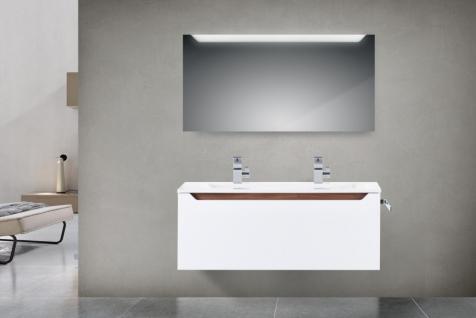 Badset Monza BadezimmermÖbel Design BadmÖbel Set, 120 Cm Doppelwaschtisch