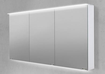 Spiegelschrank 150 cm LED Acryl Lichtplatte doppelt verspiegelt