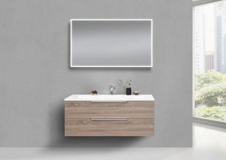 Design Waschtisch 120 cm Evermite, Badmöbel Set Intarbad CUBO