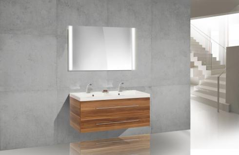 BadmÖbel Set Badset Design BadezimmermÖbel Inkl. Doppelwaschtisch 120 Cm Neu - Vorschau 1
