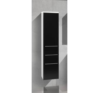 Hochschrank Bad Badmöbel Maße: H/B/T 155/35/33 cm, komplett vormontiert - Vorschau 1