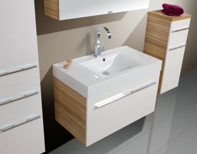BadmÖbel Set Design BadezimmermÖbel Badset Mit Spiegelschrank + Waschbecken Neu - Vorschau 3