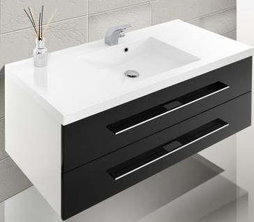 Badm bel set badset design badezimmerm bel hochglanz lack for Waschtische 120