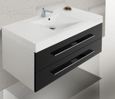 BadmÖbel Set Badezimmer Design BadezimmermÖbel Badset Mit 120 Cm Lichtspiegel - Vorschau 3