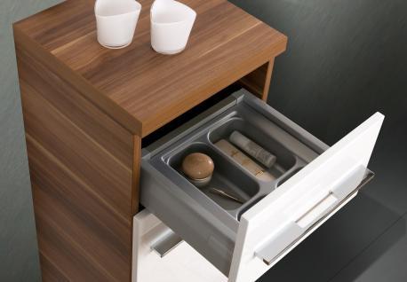 BadmÖbel Set Komplett Design BadezimmermÖbel Lichtspiegel & Hochglanz Lack Neu - Vorschau 4