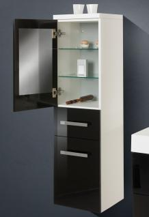 BadmÖbel Set Komplett BadezimmermÖbel Design Badset Inkl. 90 Cm Spiegelschrank - Vorschau 3