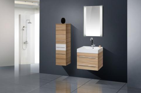 BadmÖbel Set Komplett Design BadezimmermÖbel Badset Inkl. 60 Cm Waschbecken Neu - Vorschau 1