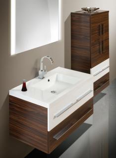 BadmÖbel Set BadezimmermÖbel Design Waschbecken + Lichtspiegel 90 Cm Neu - Vorschau 3