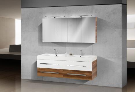 BadmÖbel Set Design BadezimmermÖbel Komplett Badset Doppelwaschtisch ...