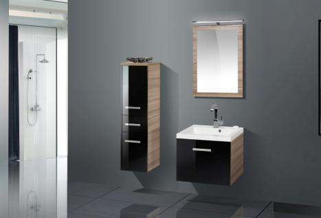 BadmÖbel Set Komplett BadezimmermÖbel Design Badset Inkl. 60 Cm Waschtisch Neu - Vorschau 1