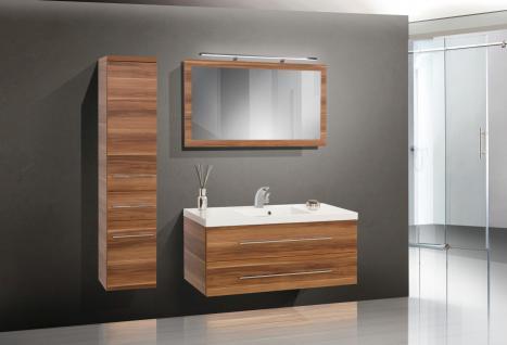 BadmÖbel Set Komplett Badset BadezimmermÖbel Waschbecken Waschtisch 120 Cm Neu - Vorschau 1