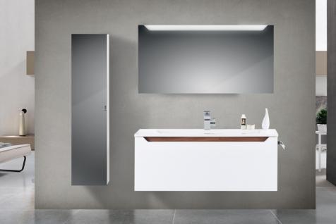 BadmÖbel Set Monza BadezimmermÖbel Design Badset Mit 120 Cm Waschtisch - Vorschau 1