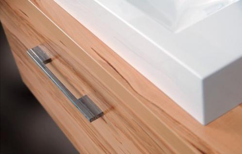 BadmÖbel Set Cremona Design Badezimmer Badset Spiegelschrank Waschtisch 80 Cm - Vorschau 4
