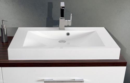 BadmÖbel Set Cremona BadezimmermÖbel Badezimmer Design Badset Waschtisch 80 - Vorschau 3