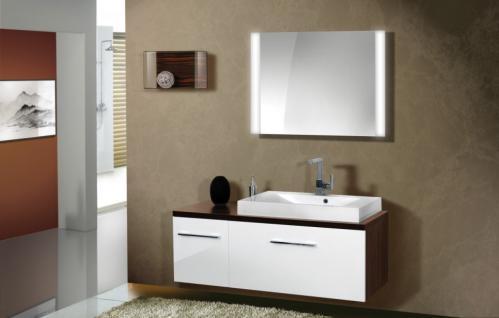 BadmÖbel Set Cremona BadezimmermÖbel Badezimmer Design Badset Waschtisch 80 - Vorschau 1