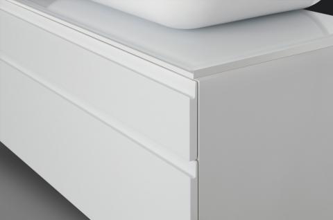 BadmÖbel Set BadezimmermÖbel Design Badset Mit Lichtspiegel + Waschtisch - Vorschau 4