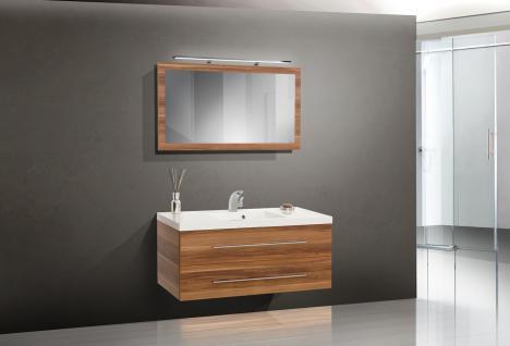 BadmÖbel Set Komplett Badset BadezimmermÖbel Waschbecken Waschtisch 120 Neu - Vorschau 1