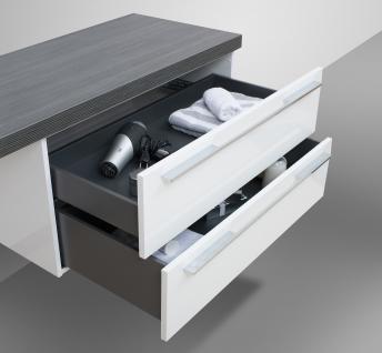 BadmÖbel Set Design BadezimmermÖbel Komplett Bad Inkl. Maß- Waschtischplatte Neu - Vorschau 5