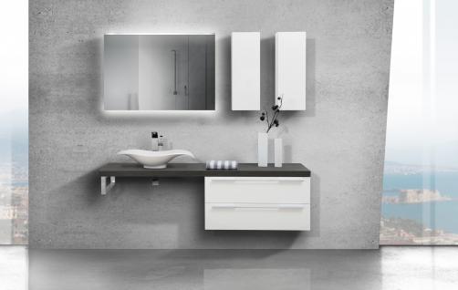 BadmÖbel Set Design BadezimmermÖbel Komplett Bad Mit Waschtischplatte Nach Maß - Vorschau 4
