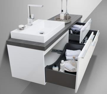 Badmobel Set Design Badezimmermobel Komplett Bad Inkl Mass Waschtischplatte Neu