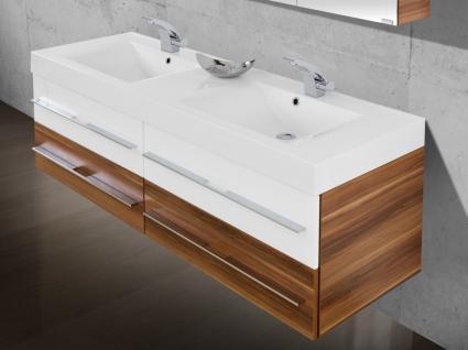 BadmÖbel Set BadezimmermÖbel Design Badset Waschbecken Doppelwaschtisch 160 - Vorschau 3