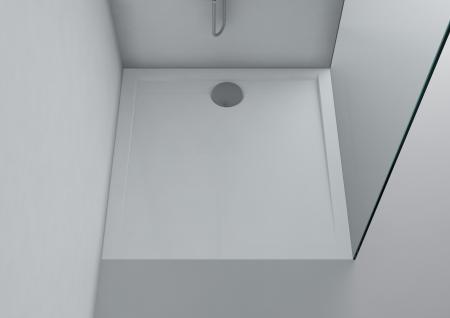 duschwanne 90x90 cm messina mineralguss flach duschtasse. Black Bedroom Furniture Sets. Home Design Ideas