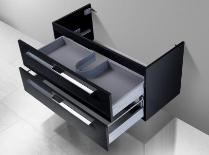 Unterschrank zu Keramag iCon 90 cm Ablagefläche rechts/links - Vorschau 2