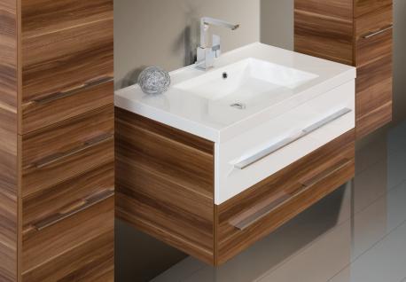 BadmÖbel Set Badset Design Badezimmer Inkl. 90 Cm Waschtisch + Lichtspiegel Neu - Vorschau 3
