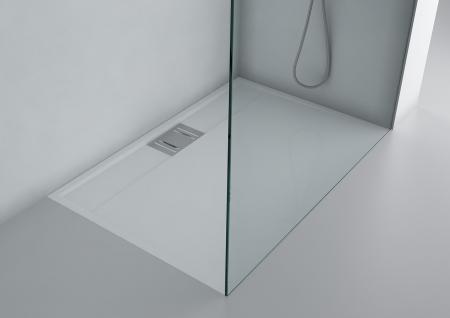 duschwanne 90x90 cm novara mineralguss flach viereck. Black Bedroom Furniture Sets. Home Design Ideas