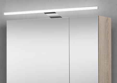 Spiegelschrank 70 cm LED Beleuchtung doppelt verspiegelt - Vorschau 3