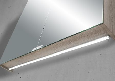 Spiegelschrank 80 cm LED Beleuchtung doppelt verspiegelt - Vorschau 3