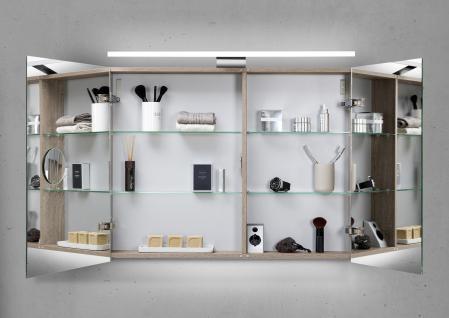Spiegelschrank 90 cm LED Beleuchtung doppelseitig verspiegelt - Vorschau 2