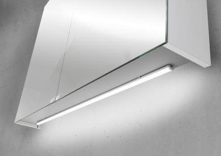 Spiegelschrank Bad 100 cm LED Beleuchtung doppelseitig verspiegelt ...
