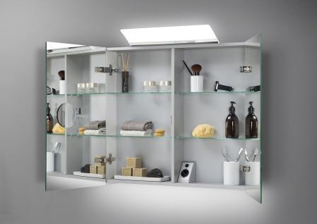 Spiegelschrank Bad 80 cm LED Beleuchtung doppelt verspiegelt - Vorschau 2