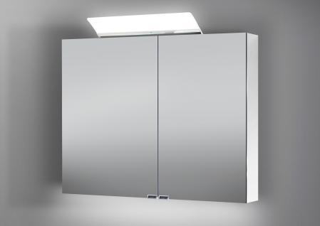 spiegelschrank bad 90 cm led beleuchtung doppelseitig. Black Bedroom Furniture Sets. Home Design Ideas