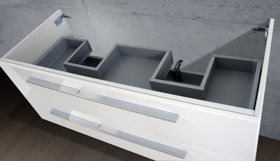 Waschtisch Unterschrank zu Duravit Starck 3 Doppelwaschtisch 130 cm Neu - Vorschau 3