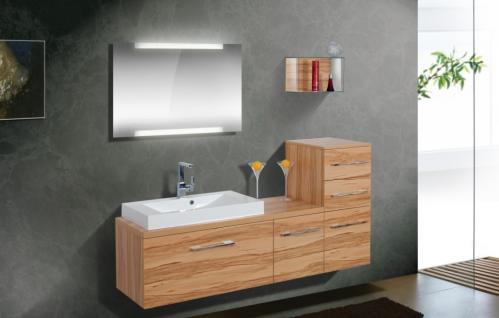 BadmÖbel Set Cremona BadezimmermÖbel Badezimmer Badset Mit Waschtisch 80 Cm - Vorschau 1