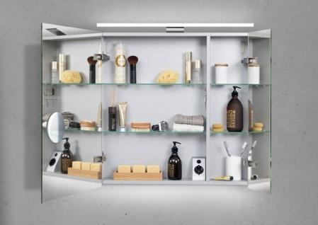 Spiegelschrank 60 cm mit LED Beleuchtung doppeltverspiegelt - Vorschau 2
