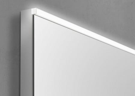 Wachtisch Set Monza 120 cm, weiß hochglanz mit Led Lichtspiegel - Vorschau 5