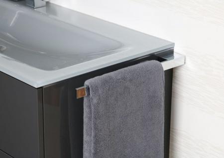 Handtuchhalter Bad Chrom Design Handtuchstange bad accessoires Badetuchstange - Vorschau 4