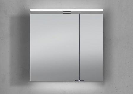 Spiegelschrank 60 cm mit LED Beleuchtung doppeltverspiegelt