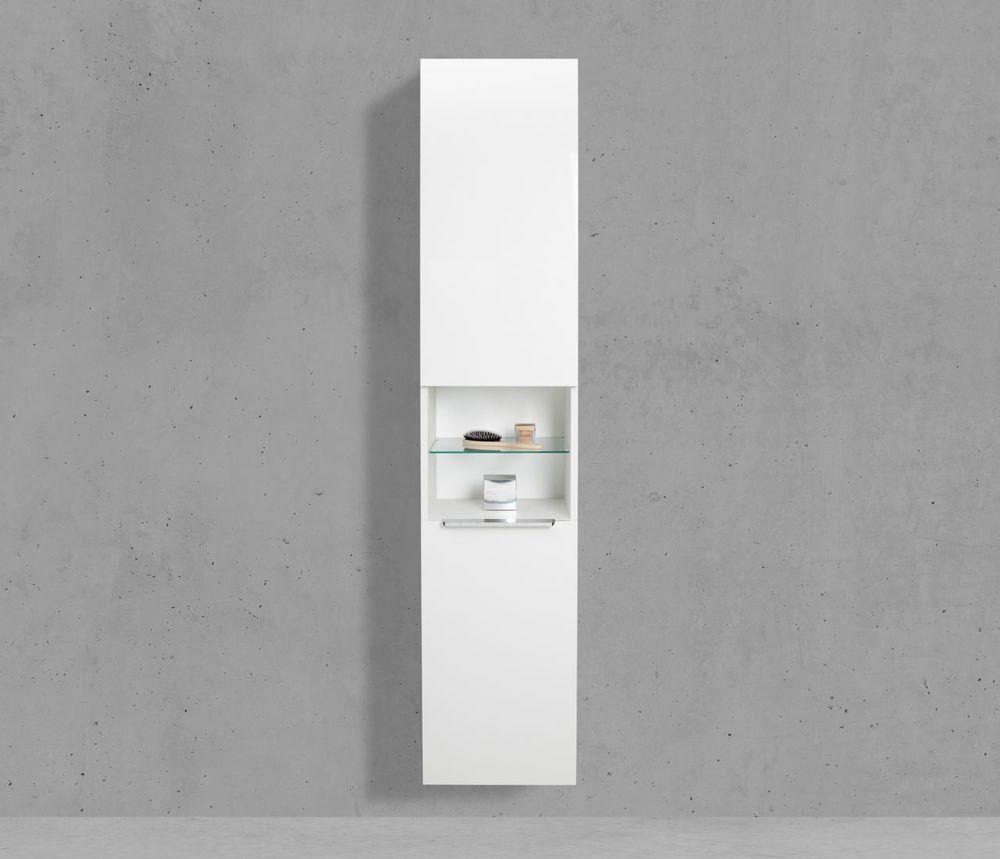 Relativ Bad Hochschrank mit Wäschekippe Seitenschrank H/B/T: 175/40/32 LX17