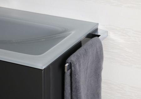 Handtuchhalter Bad Chrom Design Handtuchstange bad accessoires Badetuchstange - Vorschau 3