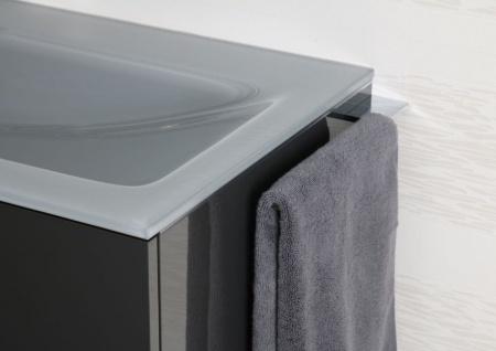 Handtuchhalter Bad Chrom Handtuchreling Design bad accessoires Badetuchstange - Vorschau 2