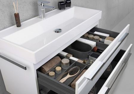 Badmöbel 100 cm Waschtisch mit Unterschrank, Waschtisch Set, Made in Gemany - Vorschau 4